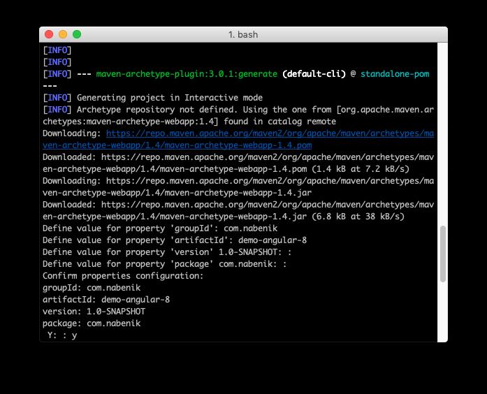 Java Bootstrap