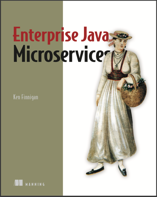 Enterprise Java Microservices cover