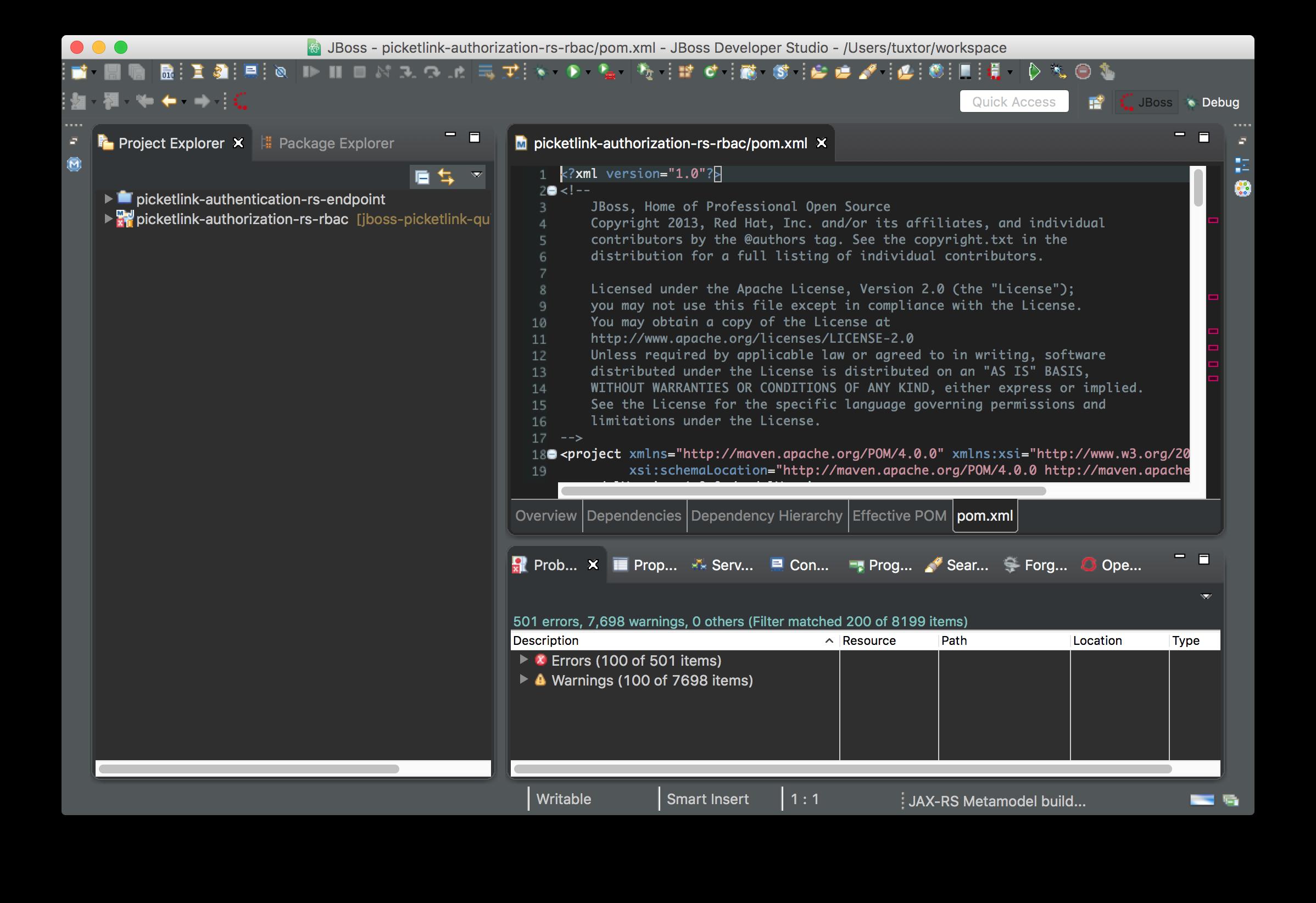 Quicktip Fix Font Size In Jboss Developer Studio And Osx