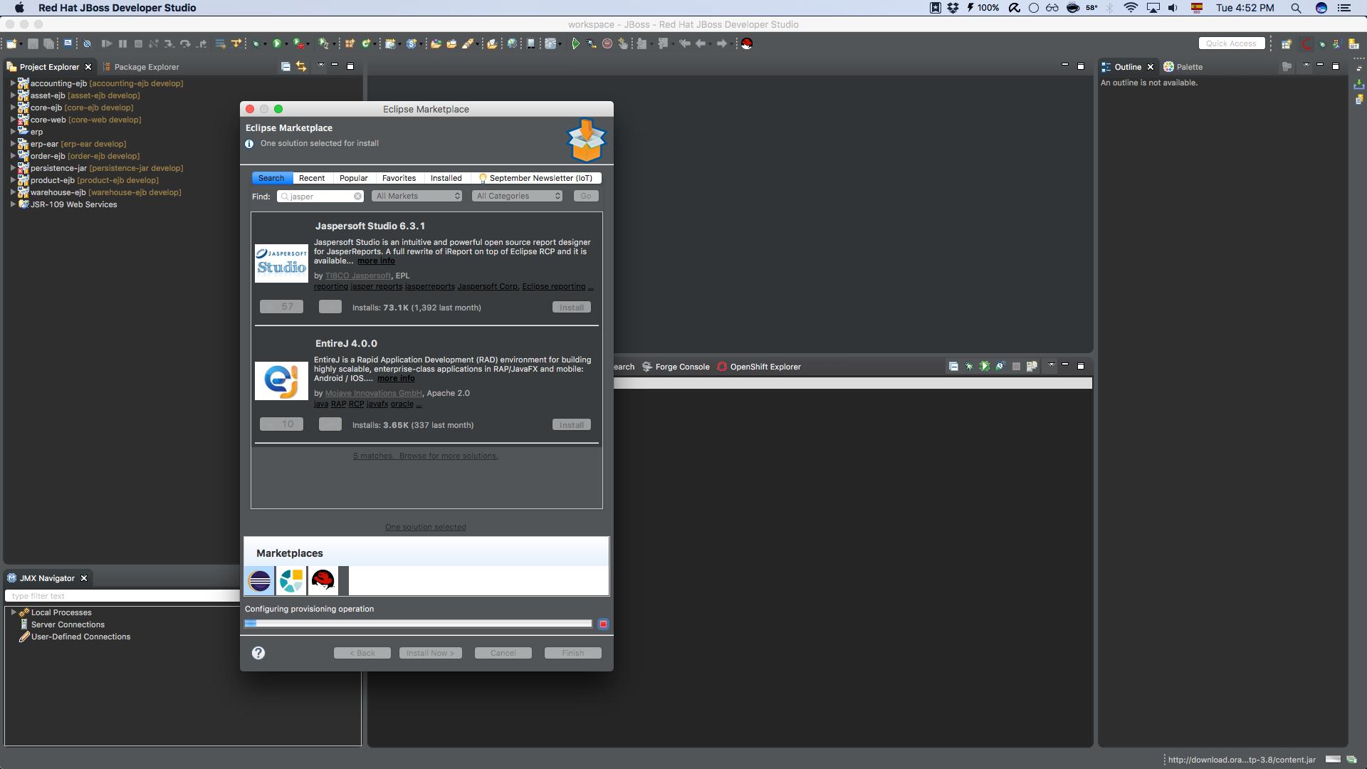 Quicktip] Add Eclipse Marketplace Client to JBoss Developer