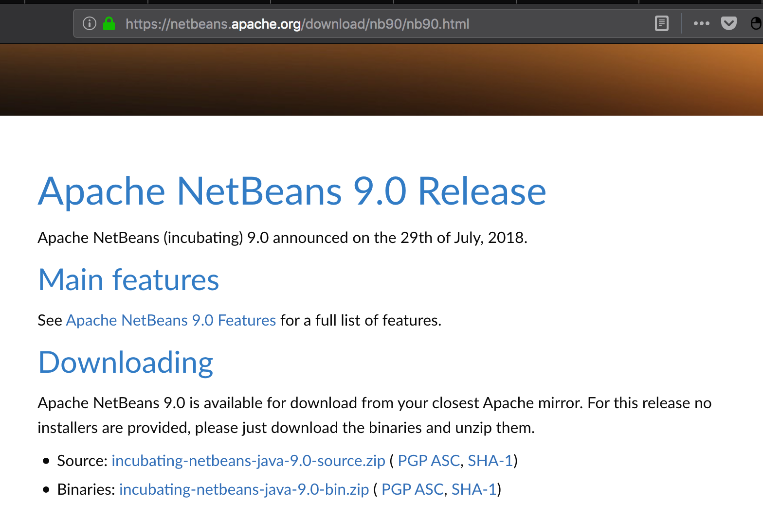 Notes on Java EE support for NetBeans 9