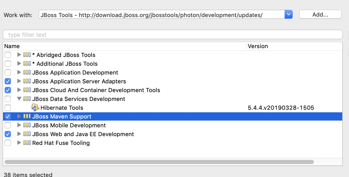 JBoss Tools